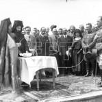 Αγιασμός κατά τη θεμελίωση του προσφυγικού συνοικισμού στο Βύρωνα