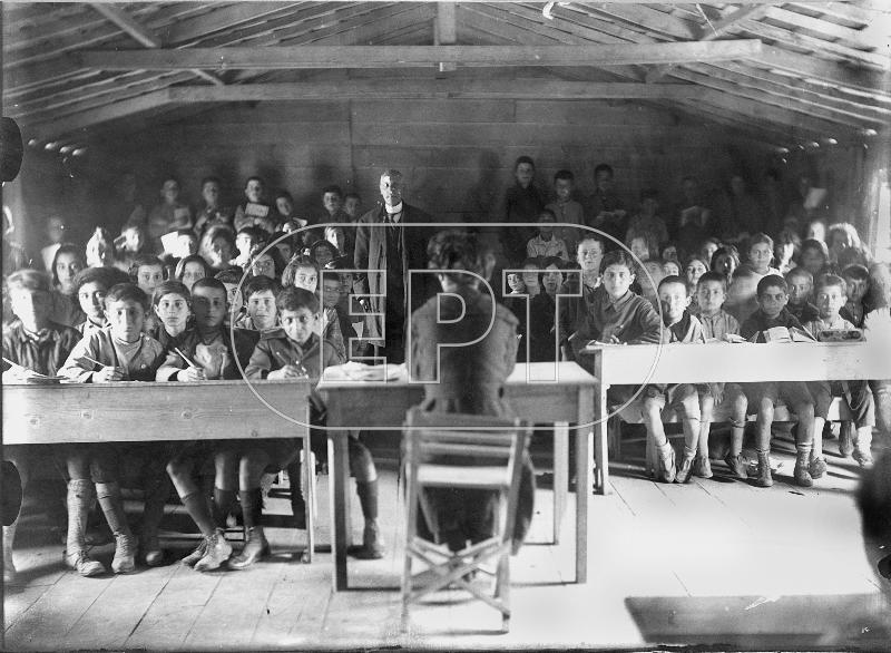 Προσφυγικό σχολειό στο Βύρωνα