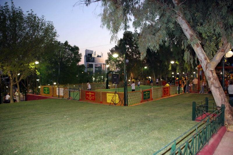 Γήπεδο στο πάρκο Φρυγίας