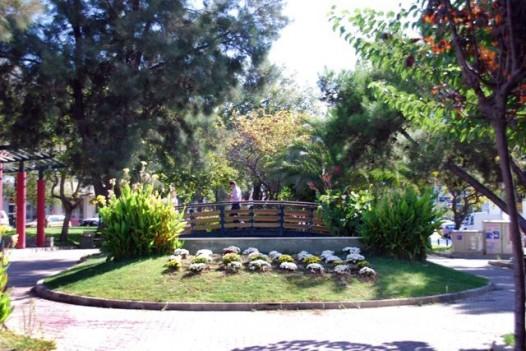 Συντριβάνι στο πάρκο της Καραολή & Δημητρίου