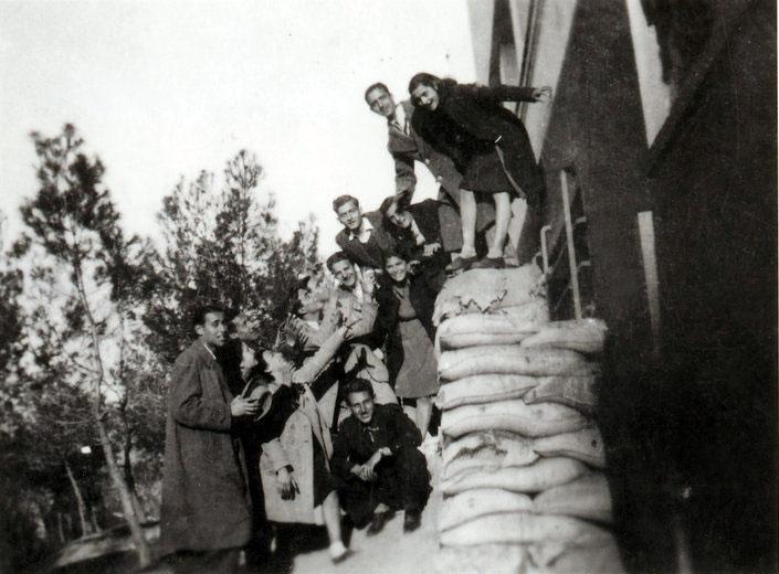Το πολυϊατρείο του Βύρωνα το 1943