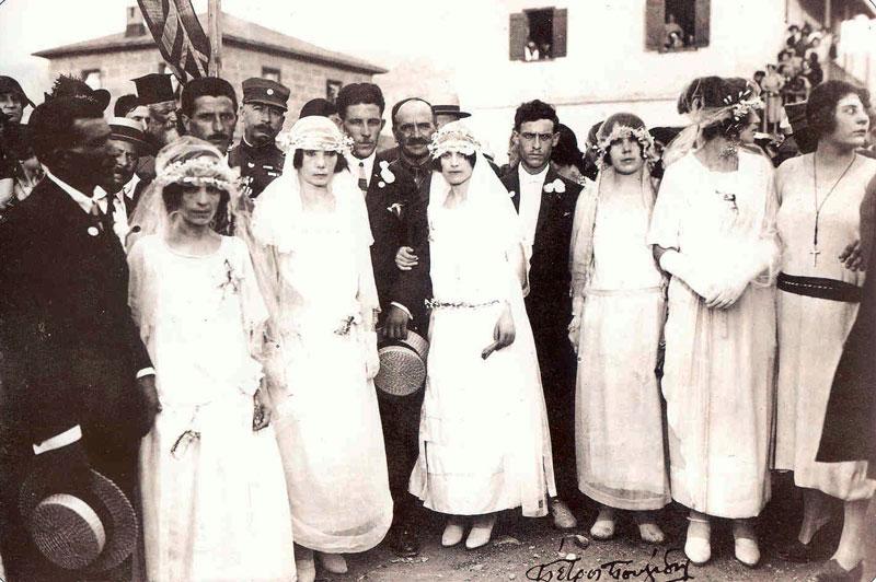 Ομαδικός γάμος στο Βύρωνα το 1923